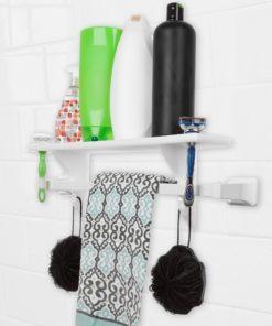 Shower Shelf in action